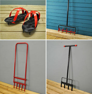 Lawn Care Tools - Hollow Tine Lawn Aerators, Lawn Spike Shoes and Spike Aerators