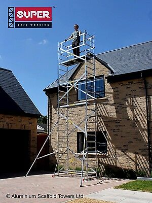 SUPER DIY 7.2M (5 in ONE) - Aluminium Scaffold Tower  Towers - British Design