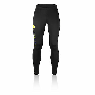 Higher State Mens Black Running Long Bottoms Breathable Lightweight Tights New