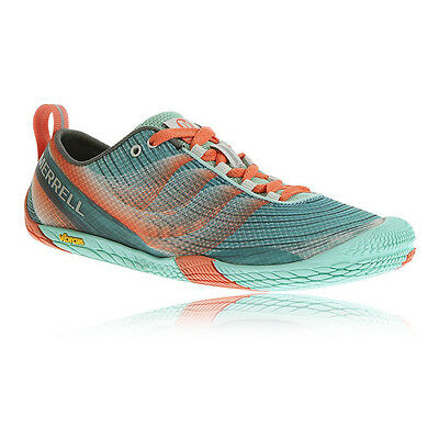 Merrell Vapour Glove Womens Green Trail Running Sports Shoes Pumps Trainers
