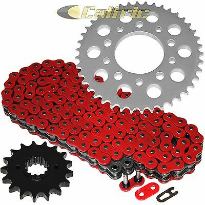 Red O-Ring Drive Chain & Sprockets Kit Fits HONDA CBR1000F Hurricane 1989-1995