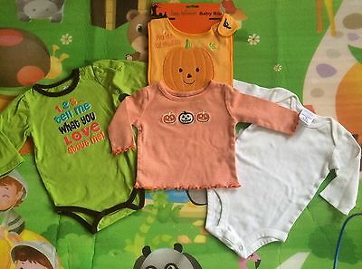 ��Lot of 4 Pc ��Unisex Baby Clothes�� Sz 0-3 Months��