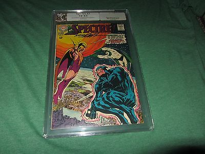 SPECTRE 3 PGX (CGC) 8.0 S.S. , signed by Neal Adams, white pages
