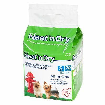 IRIS Small Puppy and Dog Neat N' Dry Training Pad or Holder Small Training Pads
