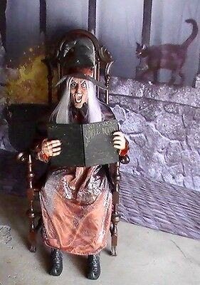 Brand New Animated Wanda The Wicked Witch Halloween Prop