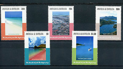 Antigua & Barbuda 2015 MNH Beaches 5v Set Landscapes Tourism Pink Sand Beach