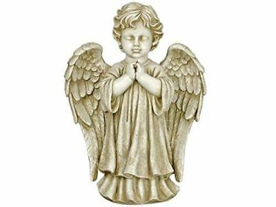 Large Angel Praying Statue Sculpture Grave Ornament or Garden Decor 64 cm