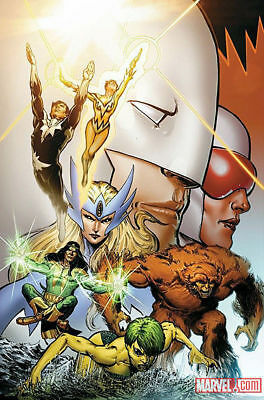 2011 Poster - PHIL JIMENEZ - ALPHA FLIGHT ~  ROLLED UNDISPLAYED Marvel