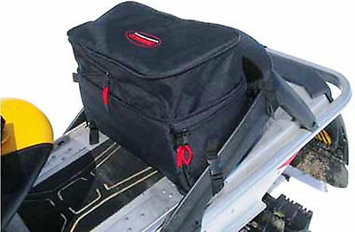 Snowmobile ATV Tunnel Bag Water Resistant Black NEW