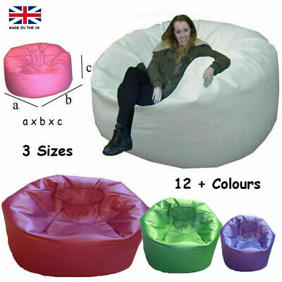 Jumbo Bean bags Large Settee Giant  Lounger faux Leather Couch.