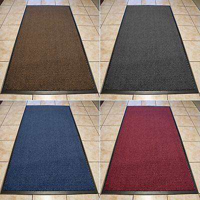 Barrier Mat Heavy Duty Large & Small Rugs Back Door Kitchen Hall Non Slip Rubber