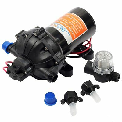 60PSI 18.9LPM 12V Water Pump Diaphragm Self-Priming Caravan RV Boat Spraying AU