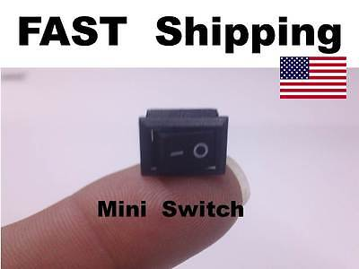 1x - Mini Small Switch -  250V AC 3A ---- 125V AC 6A ---- On Off --- 12v DC 5A