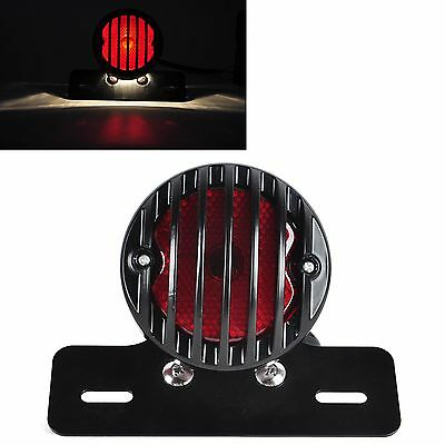 Brand new 1Pc Black Motorcycle License Plate Bracket Tail Light For Harley