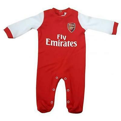 Arsenal Baby Sleepsuit Babygrow Official Merchandise 12-18  Months