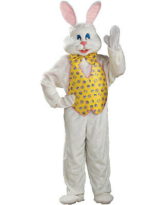 AD74 Morris Costumes Men/'s Acrylic Mascots Easter Bunny Costume Pink White XL