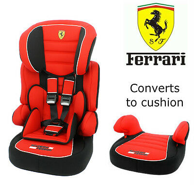 Ferrari Beline Sp Lux UK Baby Child Car Seat 9 months - 12 Years Groups 1 2 3