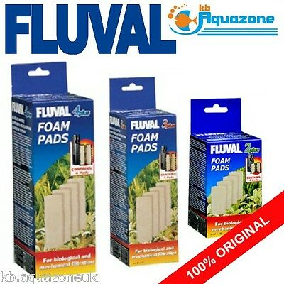 Fluval * 2 3 4 Plus Foam * Replacement * Insert * Original Pad Variations
