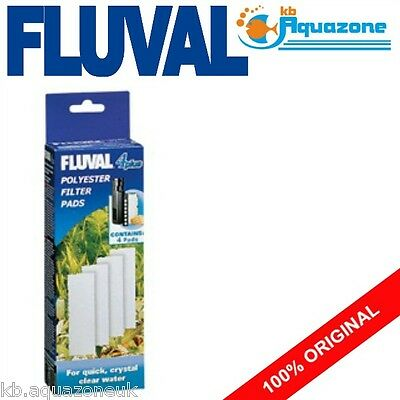 Fluval * 4 Plus Polyester * Replacement * Insert * Original Pad * 4 Pack