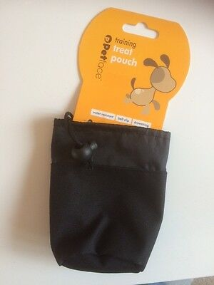 Dog training treat pouch bag