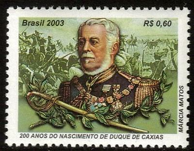 BRAZIL MNH 2003 The 200th Anniversary of the birth of the Duke of Caxias