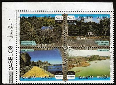 BRAZIL MNH 1999 Water Resources