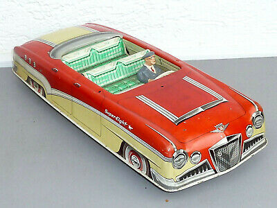 Höfler - Commander / Super Eight, Blech-Cabriolet, 41 cm lang, BJ. 1958-62