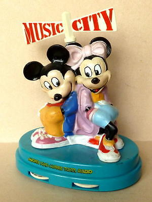 Mickey and Minni Tunes Radio, MUSIC CITY, batteriebetrieben