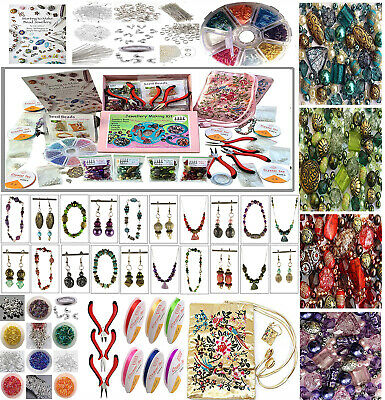 Beginners Jewellery Making Hobby Craft Kit