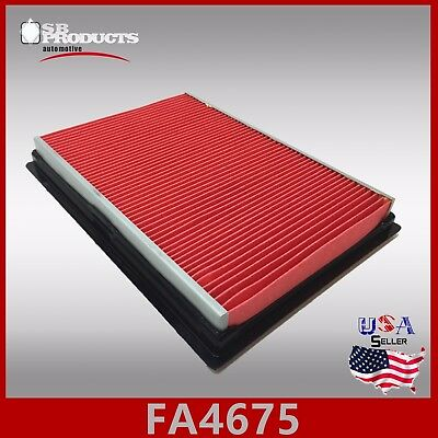 Fa4675 Ca6900 46044 Engine Air Filter ~ 2009-2012 Fx35 2013 F37 & 2009-2013 Fx50