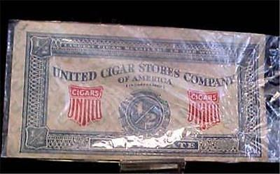 United Cigar Stores Co Of America-1/2 Certificate--8497