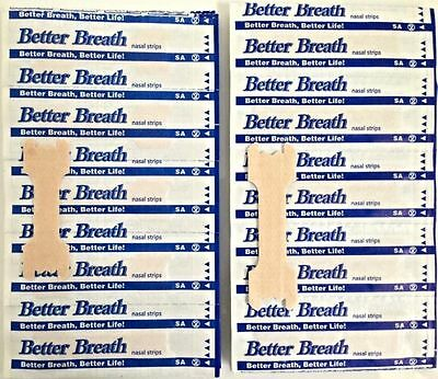 100 & 200 Tan Better Breath Nasal Strips Sm/med Or Large Right Way To Stop Snore