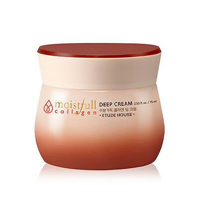 [ETUDE HOUSE]  Moistfull Collagen Deep Cream 75ml / Korea cosmetic