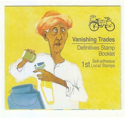 Singapore 2013 Vanishing Trades 1St Local Dairy Man 1St Reprint (2013B) Booklet