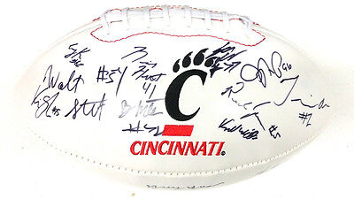 Cincinnati Bearcats Team Signed Football Munchie Legaux