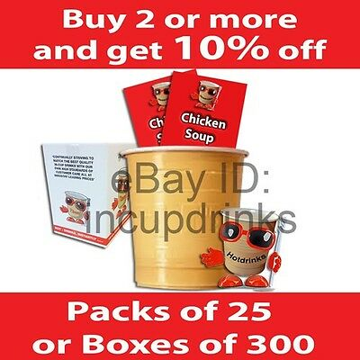 In Cup, Incup Drinks for 73mm Vending Machines inc. Klix, Creamy Chicken Soup
