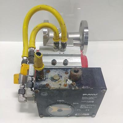 Pmv Electro-Pneumatic Double Acting Valve Positioner W/ Flow-Tek Rf15-2""