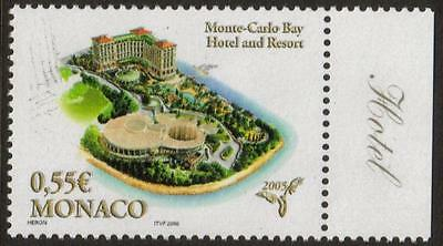 MONACO MNH 2005 Opening of the Monte-Carlo Bay Hotel