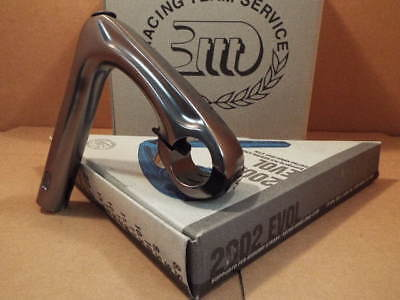 New-Old-Stock 3T 2002 Evol Quill Stem w/Gray Finish (25.8/26.0 mm clamp x 105mm)