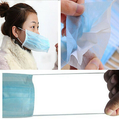 10or50pcs Medical disposable masks Clean and simple security Prevent bacterial