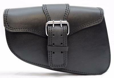 Sacoche latérale en cuir (Pour Harley Sportster iron forty eight nighster HD )