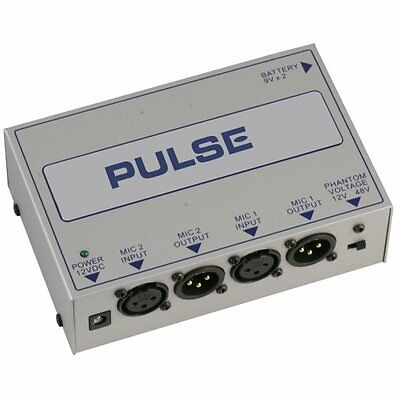Pulse Dual Channel Phantom Power Supply