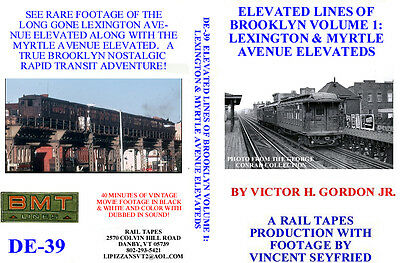 DVD: Elevated Lines of Brooklyn (NY) Lexington & Myrtle Ave Subway New York