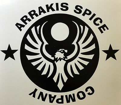 Arrakis Spice Company Dune Altredes Decal Sticker Vinyl Wall Laptop Car 5""