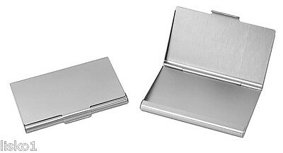 TZ Case Business card Holder All metal Pocket size   Silver ANC002S