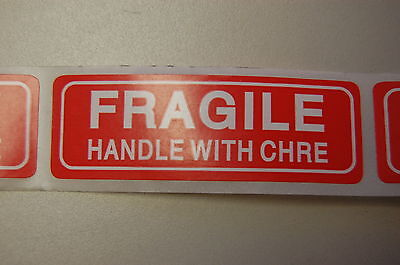 500 1X3 FRAGILE Sticker TYPO CLEARANCE SALE Fragile Label/Sticker USPS UPS Fedex
