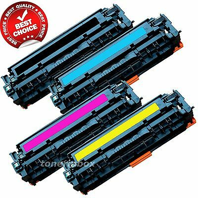 4 pack 131 Toner Cartridge SET BCYM for Canon ImageClass LBP-7110CW MF8280CW