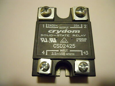 Crydom CSD2425 Solid State Relay SSR 25A Low Leakage