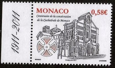 MONACO MNH 2011 The 100th Anniversary of the Consecration of Monaco Cathedral