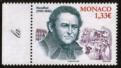 MONACO MNH 2008 The 225th Anniversary of the Birth of Stendhal